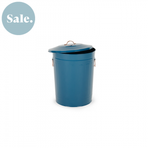 Akita pedaalemmer blauw koper