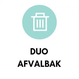 Duo afvalbak