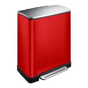 EKO E-Cube Recycling Pedaalemmer 46 Liter (28+18 Liter)