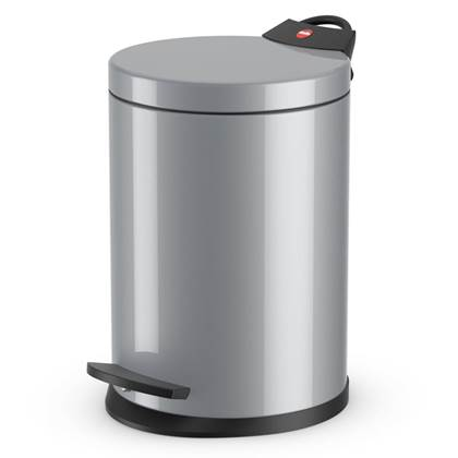 Hailo Pedaalemmer T2 maat S 4 L zilver 0704-119