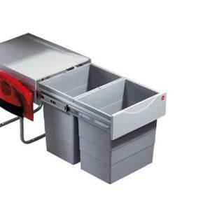 Hailo Tandem RB Inbouwafvalemmer 40 Liter