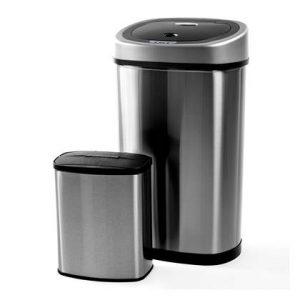 Homra Sensor Afvalemmer Set 50 Liter + 8 Liter