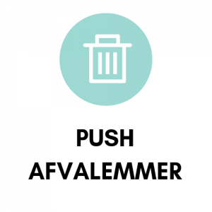 Push afvalemmer