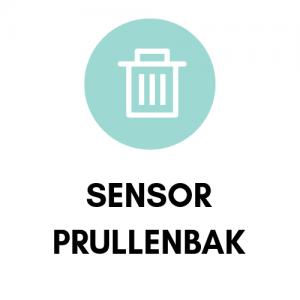 Sensor prullenbak