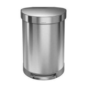 Simplehuman Semi-Round Pedaalemmer 60 Liter
