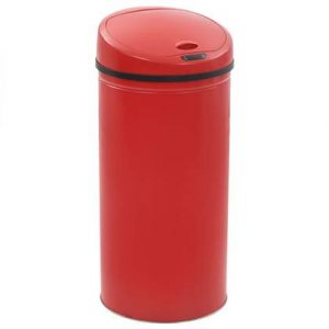 vidaXL Sensorprullenbak 52 L rood