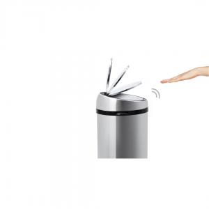 Sense touch-free afvalemmer 30 liter roestvrij staal