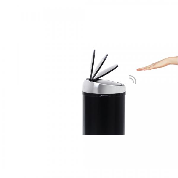Sense touch-free afvalemmer 50 liter zwart