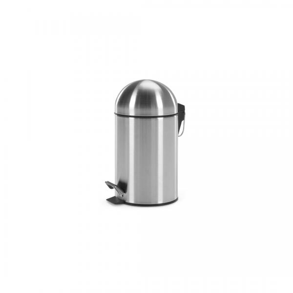 Joss pedaalemmer 3 liter zilver