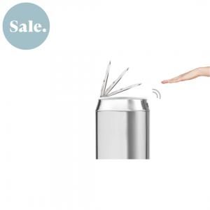 Sense touch-free afvalbak 42 liter roestvrij staal