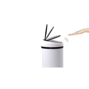 Sense touch-free afvalemmer 50 liter wit
