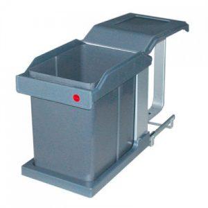 3634-10 Hailo Solo automatic 20 liter afvalemmer