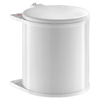 3715-90 Hailo Big-box 15 liter afvalemmer Wit