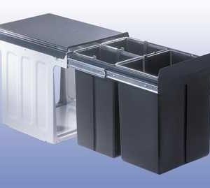Wesco Profiline Bio-Trio Maxi 40 DT Afvalemmer