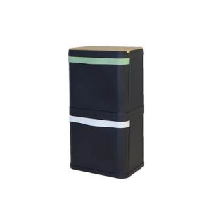 BinBang Afvalbak 58 Liter (2x29 L) - Met Sierplank