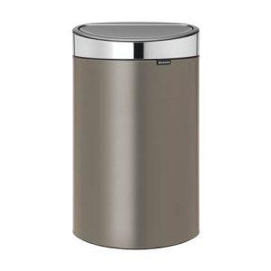 Brabantia Touch Bin Afvalemmer 40 Liter