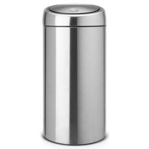 Brabantia Touch Bin Afvalemmer 45 Liter Vingerafdrukvrij