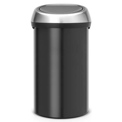 Brabantia Touch Bin Afvalemmer 60 Liter Vingerafdrukvrij