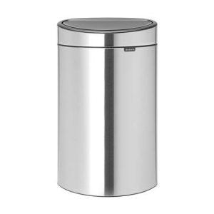 Brabantia Touch Bin Recycle Vingerafdrukvrij Afvalemmer 33 Liter (10+23 Liter)