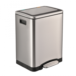 Easybin Silver Duo 30 Liter afvalemmer
