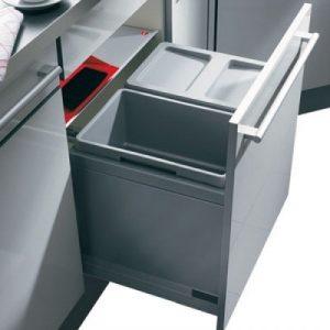 3631-50 Hailo Afvalemmer XT Inset Triple-XL 49 liter