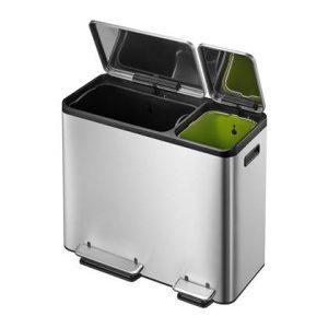 EKO EcoCasa Pedaalemmer 45 Liter (30+15 Liter)