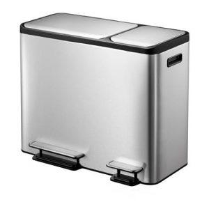 EKO EcoCasa Pedaalemmer 45 Liter (3x15L)