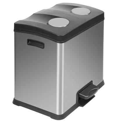 EKO Rejoice Recycling Pedaalemmer 24 Liter (2x12 L)