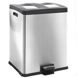EKO Rejoice Recycling Pedaalemmer 60 Liter (2x30 L)