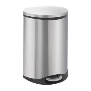 EKO Shell RVS Recycling Pedaalemmer 44 Liter (22+22 Liter)