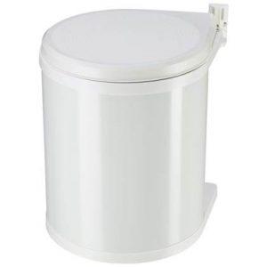 Hailo Inbouw afvalemmer Compact-Box maat M 15 L wit 3555-001