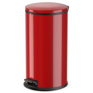 Hailo Pedaalemmer Pure maat L 25 L rood 0530-040