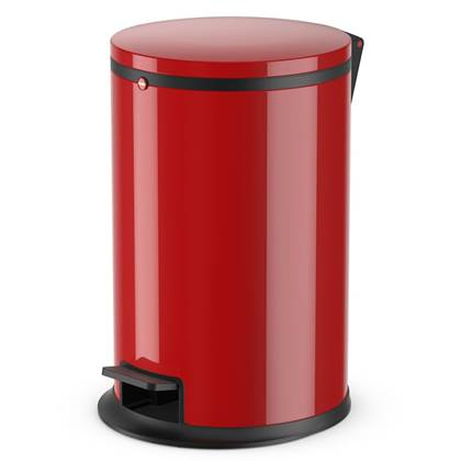 Hailo Pedaalemmer Pure maat M 12 L rood 0517-040