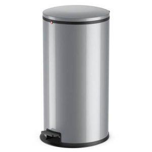 Hailo Pedaalemmer Pure maat XL 44 L zilver 0545-020