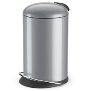 Hailo Pedaalemmer TopDesign maat M 13 L zilver 0514-450