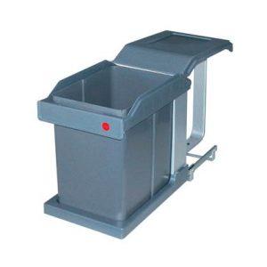 Hailo Solo Voluittrek Inbouwafvalemmer 20 Liter