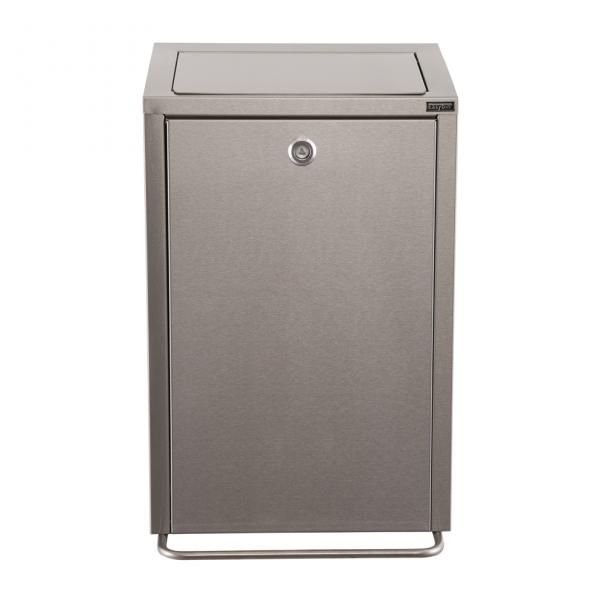 Easybin hygiene secure 18 liter afvalemmer Rvs
