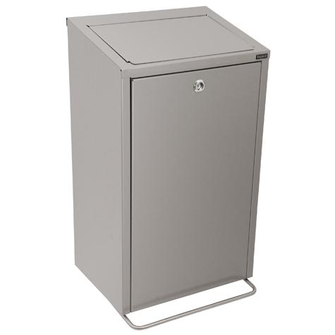 Easybin hygiene secure 33 liter afvalemmer Rvs