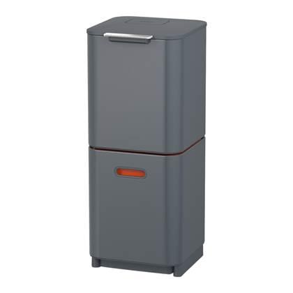 Joseph Joseph Intelligent Waste Afvalemmer Totem Compact 40 Liter (2x20 Liter)