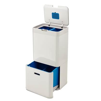 Joseph Joseph Intelligent Waste Totem Afvalemmer 58 Liter (34+24 L)