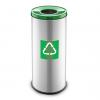 Easybin Eco flex 50 Liter ronde afvalemmer Groen