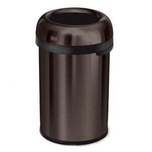 Simplehuman Bullet Open Afvalemmer 115 Liter