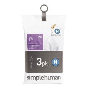 Simplehuman Code N Pocket Liners Afvalzakken 45-50 L