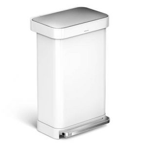 Simplehuman Rectangular Liner Pocket Pedaalemmer 45 Liter