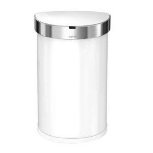 Simplehuman Semi-Round Liner Pocket Sensor Afvalemmer 45 Liter