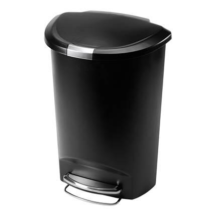 Simplehuman Semi-Round Pedaalemmer 50 Liter