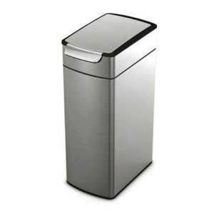 Simplehuman Slim Touch-Bar Can 40 Liter
