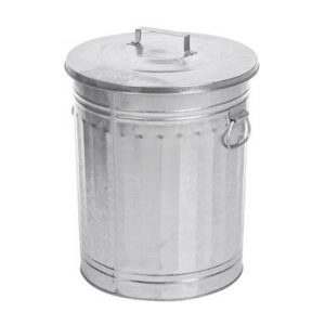 V-Part Trash Can Retro Prullenbak 54 L