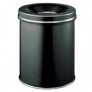Easybin Vlamdover 15 Liter afvalemmer Zwart