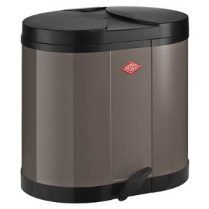 Wesco Double Bin Duo Afvalemmer 30 Liter (2x15 Liter)